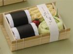 タオルで出来たおむすび弁当箱セット:キウイ付