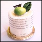 タオルケーキ:フルーツ香り付きフルーツロール
