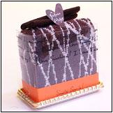 タオルケーキ:チョコマーブル