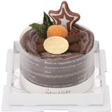 タオルマフラーケーキ:ショコラ