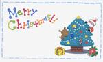 クリスマス名刺サイズカード