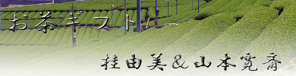桂由美&山本寛斎の銘茶ギフトセット